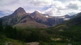 上部Kintla湖冰川国家公园蒙大拿 库存图片