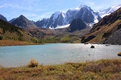 上部shavlinskoe湖 库存图片