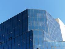 给上釉的摩天大楼;反射 图库摄影