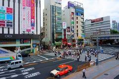上野区是其中一个东京最旧的区  免版税图库摄影