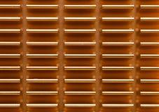 上铜在计算机主板的吸热器 免版税库存照片