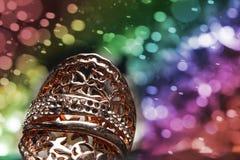 上限值宝石辅助部件,金子,铜,金刚石,圆环 图库摄影
