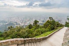 从上面的城市视图 库存照片