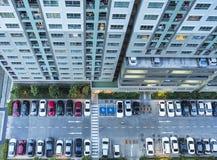 从上面的高层建筑物 免版税图库摄影