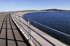 上面的水库 免版税图库摄影