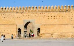 从上面被看见的Fes麦地那,摩洛哥 库存照片