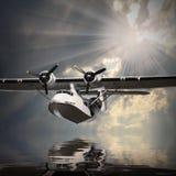 水上飞机。 免版税图库摄影