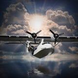 水上飞机。 免版税库存照片
