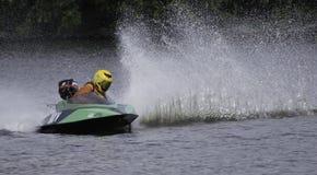 水上飞机赛艇 图库摄影