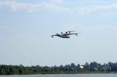 水上飞机BE-200 免版税库存照片