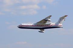水上飞机BE-200 免版税图库摄影