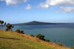 登上维多利亚,新西兰 库存照片