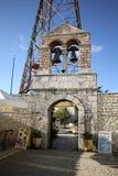 登上Pantokrator,科孚岛,希腊 免版税库存图片