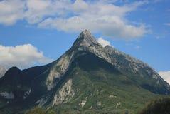登上Svitnjak,朱利安阿尔卑斯,斯洛文尼亚 免版税库存图片