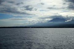 登上Talinis,巴伦西亚,东内格罗省,菲律宾 免版税库存图片