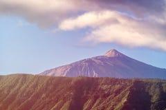 登上Teide火山 库存图片