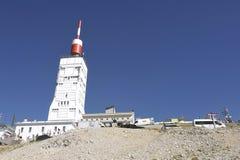 登上Ventoux的驻地 免版税库存图片