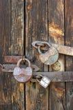 下关键锁定 免版税库存照片