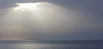 下午光,希腊 免版税图库摄影