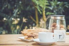 下午咖啡休息 库存图片