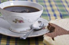 下午咖啡 免版税图库摄影