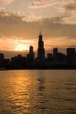 下午好芝加哥 图库摄影