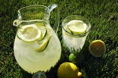 下午柠檬水 库存图片