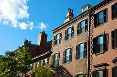 下午波士顿 免版税图库摄影