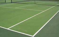 下午网球 库存照片