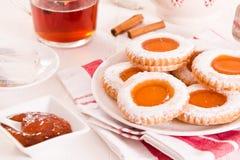 下午茶时间饼干 免版税图库摄影