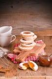 下午茶时间饼干 免版税库存图片