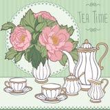 下午茶时间 免版税图库摄影