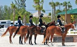 下午骑马者 免版税库存照片