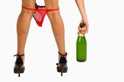 下来女裤 免版税图库摄影