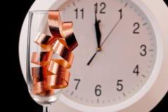 下来庆祝计数新年度 免版税库存照片