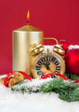 下来新年计数 免版税库存图片