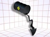 下来油价 库存图片