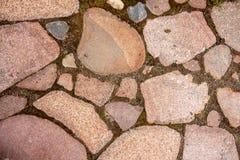 下来纹理石头 库存图片
