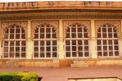 下来Dalaram庭院琥珀色的堡垒 免版税图库摄影