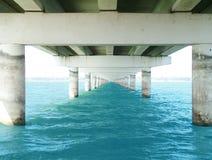 下桥梁 库存图片