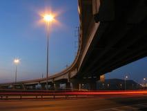 下桥梁 免版税库存图片