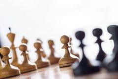 下棋比赛集合 图库摄影
