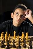 下棋比赛 库存图片