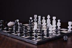 下棋比赛 免版税图库摄影