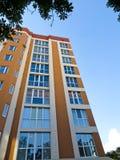 下楼房建筑高层 免版税图库摄影