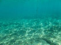 水下的地中海 免版税库存图片