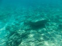 水下的地中海 免版税图库摄影