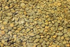 水下的石头 图库摄影