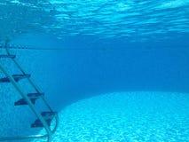 水下的水池射击 图库摄影