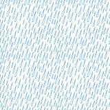 下落无缝模式的雨 库存照片